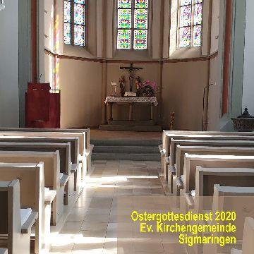 Thumbnail for Ostergottesdienst in der Ev. Kirchengemeinde in Sigmaringen