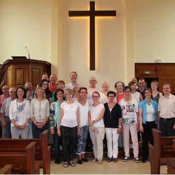 Thumbnail for Musikalischer Brückenschlag nach Thann.  Konzertausflug der Sigmaringer Kantorei nach Frankreich