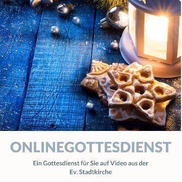 Thumbnail for Onlinegottesdienst zu Heiligabend