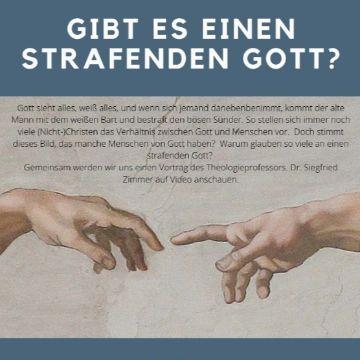 """Thumbnail for """"Gibt es einen strafenden Gott?"""" Videovortrag von Prof. Dr. Siegfried Zimmer"""