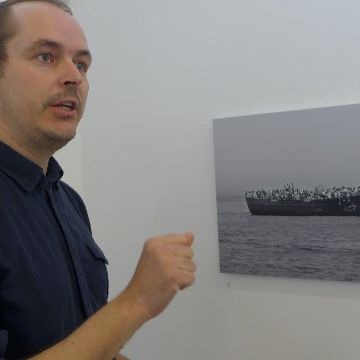 "Thumbnail for Ausstellung im Mittendrin:  Daniel Kempf-Seifried ""Mission im Mittelmeer"""
