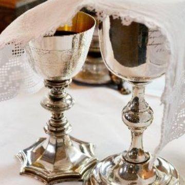 Thumbnail for Passionsandacht mit Abendmahl an Tischen