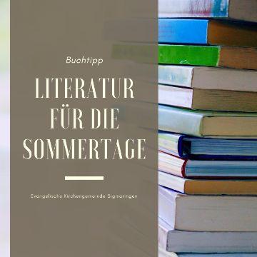 Thumbnail for Literatur für die Sommerferien.