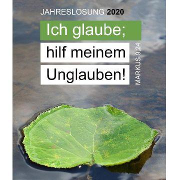 """Thumbnail for """"Ich glaube, hilf meinem Unglauben!"""" Jahreslosung 2020"""
