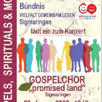 Thumbnail for Musik verbindet - Gospelchor-Konzert  mit dem Sigmaringer Gospelchor 'promised land'