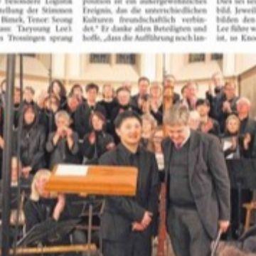 Thumbnail for Lees Kantate mischt asiatische Klänge mit Musik von Bach